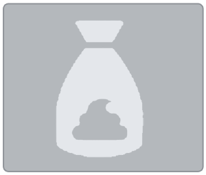 Pooh bags icon