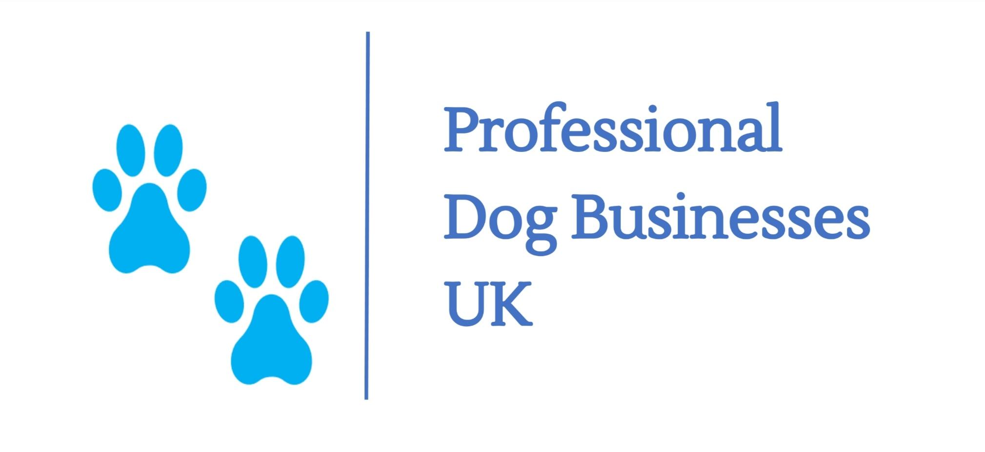 Logo Professional Dog Businesses UK